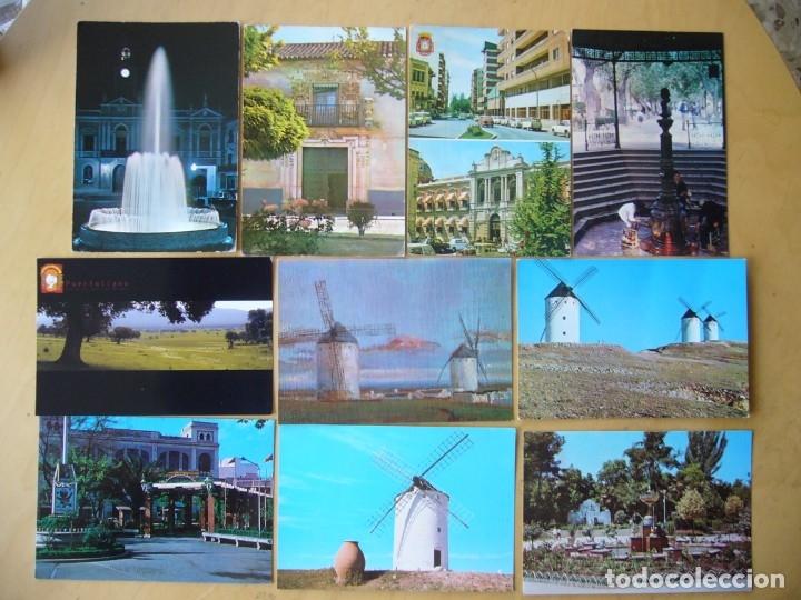 LOTE 13 POSTALES DE CIUDAD REAL (Postales - España - Castilla la Mancha Moderna (desde 1940))