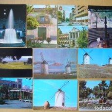 Postales: LOTE 13 POSTALES DE CIUDAD REAL. Lote 179270181