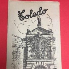 Postales: ALBUM 2 BLOC DE TARJETAS POSTALES TOLEDO. ED,GARCIA GARRABELLA. BLANCO Y NEGRO CON BRILLO. Lote 179949675