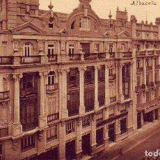 Postales: ALBACETE CALLE MARQUES DE MOLINS. Lote 180437972