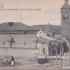 Postales: GUADALAJARA - CAPILLA DE LOS URBINAS E IGLESIA DE SANTA MARIA. Lote 181963043