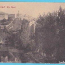 Postales: CUENCA - RÍO JÚCAR. EDICIÓN F. CUESTA. FOTOTIPIA CASTAÑEIRA, ÁLVAREZ Y LEVENFELD, 1927. Lote 182366251