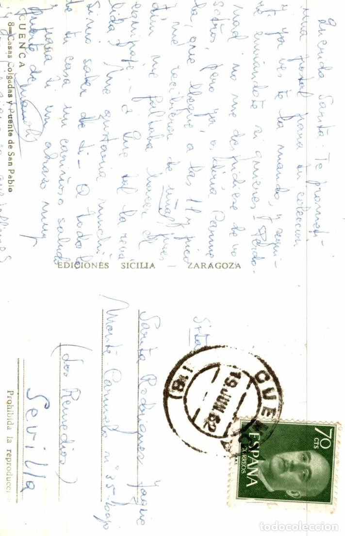 Postales: CUENCA CASAS COLGADAS - Foto 2 - 182521358
