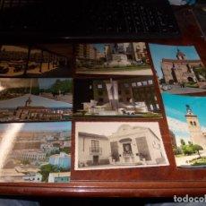 Postales: LOTE 8 POSTALES CIUDAD REAL, VER FOTOS. Lote 182898012