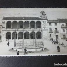 Postales: VILLARROBLEDO ALBACETE PLAZA DE RAMON Y CAJAL. Lote 182906642