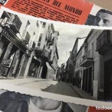 Postales: ANTIGUA POSTAL FOTOGRÁFICA VALDEPEÑAS CALLE DE JOSE ANTONIO. Lote 182991671