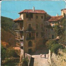 Postales: [POSTAL] CASAS COLGADAS. CUENCA. (CIRCULADA Y MUY FATIGADA). Lote 183178308