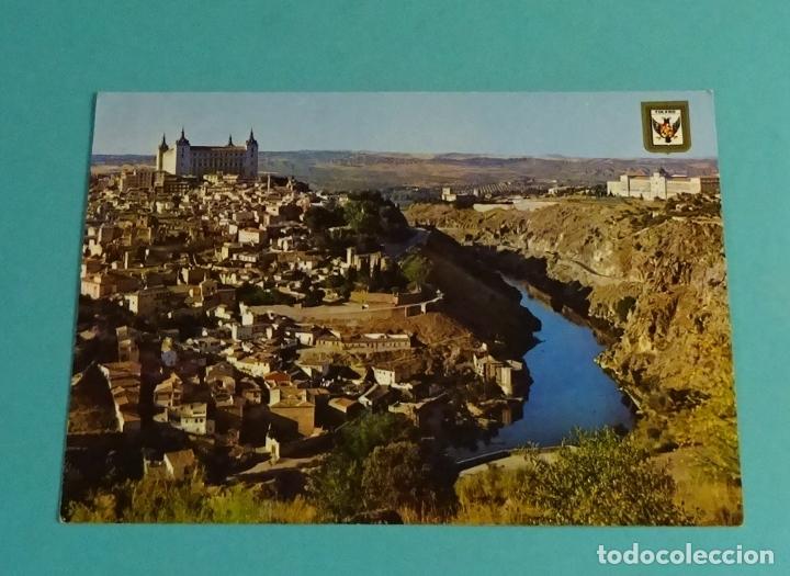 TOLEDO. VISTA PARCIAL. DOMÍNGUEZ - ESCUDO DE ORO (Postales - España - Castilla la Mancha Moderna (desde 1940))
