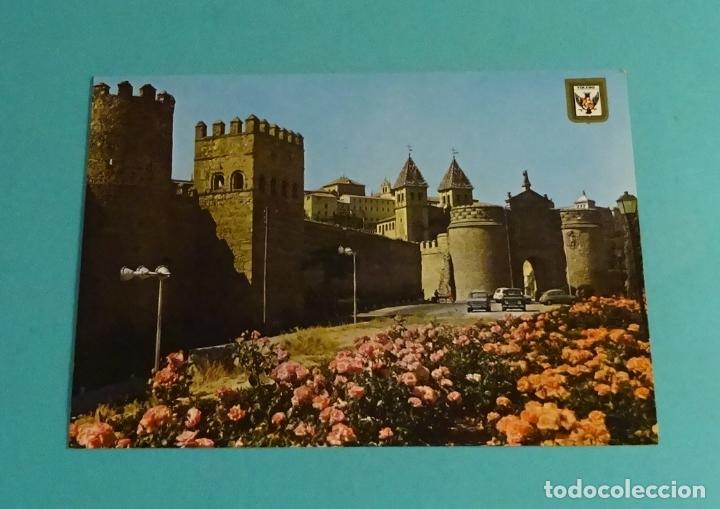 TOLEDO. MURALLAS Y PUERTA DE BISAGRA. DOMÍNGUEZ - ESCUDO DE ORO (Postales - España - Castilla la Mancha Moderna (desde 1940))