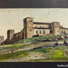 Postales: SIGÜENZA-PALACIO FORTALEZA-ANTIGUA PRISION-FOT·E.VIDAL-POSTAL ANTIGUA-(64.400). Lote 183423198