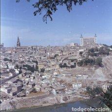 Postales: NEGATIVO ESPAÑA TOLEDO 1970 KODAK 55MM GRAN FORMATO NEGATIVE SPAIN PHOTO FOTO PANORÁMICA. Lote 183481406