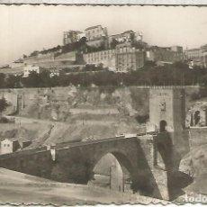Postales: TOLEDO PUENTE DE ALCANTARA ESCRITA. Lote 183586021