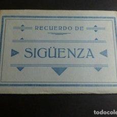 Postales: SIGÜENZA GUADALAJARA CUADERNILLO 10 POSTALES COMPLETO. Lote 183745881