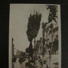 Postales: CUENCA-RIO HUECAR Y CALLE DE ODON BUEN-THOMAS-POSTAL ANTIGUA-VER FOTOS-(74.824). Lote 221312620