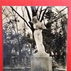 Postales: CIUDAD REAL. PARQUE GASSET. FUENTE DE LA PRIMAVERA. FOTO SALAS.. Lote 184735603