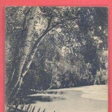 Postales: GUADALAJARA- BALNEARIO DE TRILLO, CAMINO QUE CONDUCE AL EMBARCADERO, CIRCULADA 1916, VER FOTOS,. Lote 184873827
