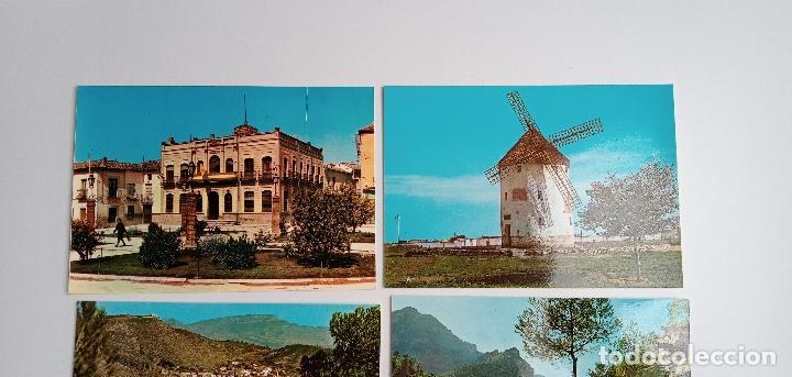 Postales: LOTE DE 6 POSTALES. QUINTANAR DE LA ORDEN (TOLEDO), YESTE, TUS (ALBECETE), VALDEPEÑAS (CIUDAD REAL) - Foto 2 - 185694390