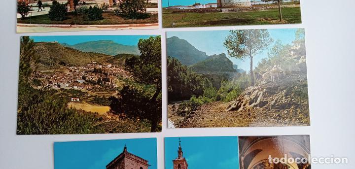 Postales: LOTE DE 6 POSTALES. QUINTANAR DE LA ORDEN (TOLEDO), YESTE, TUS (ALBECETE), VALDEPEÑAS (CIUDAD REAL) - Foto 3 - 185694390