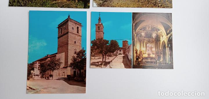Postales: LOTE DE 6 POSTALES. QUINTANAR DE LA ORDEN (TOLEDO), YESTE, TUS (ALBECETE), VALDEPEÑAS (CIUDAD REAL) - Foto 4 - 185694390