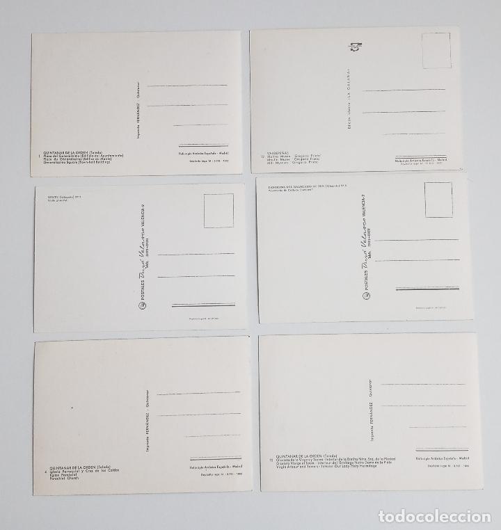 Postales: LOTE DE 6 POSTALES. QUINTANAR DE LA ORDEN (TOLEDO), YESTE, TUS (ALBECETE), VALDEPEÑAS (CIUDAD REAL) - Foto 5 - 185694390