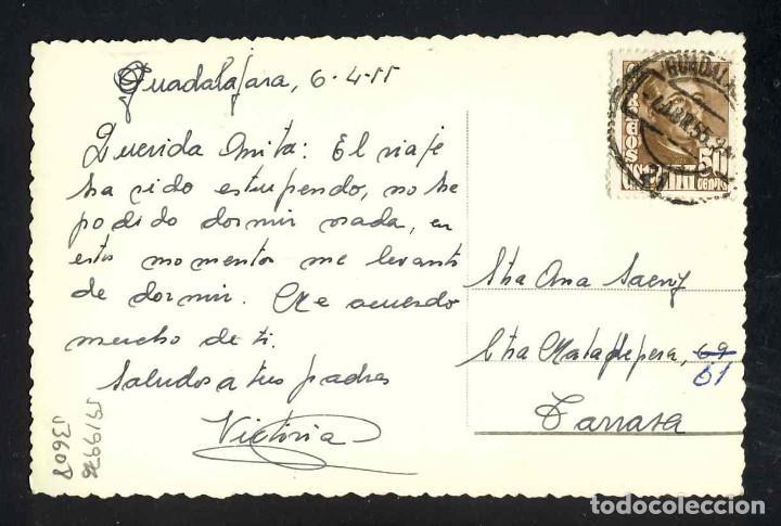 Postales: Postal de GUADALAJARA: Plaza del General Mola (Ed.Arribas num.14) - Foto 2 - 5919976