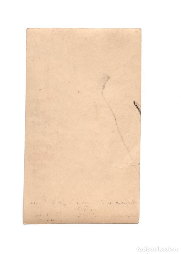 Postales: CASAS DE VES.(ALBACETE).- RECUERDO SANTÍSIMA VIRGEN DEL ROSARIO DE FÁTIMA. - Foto 2 - 186344118