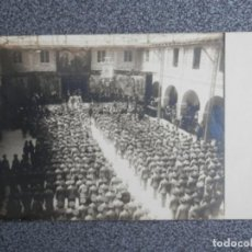 Postales: ACADEMIA INFANTERIA TOLEDO RARÍSIMA POSTAL PRINCIPIOS SIGLO FIESTA MILITAR. Lote 187515775