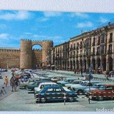Postales: AVILA, POSTAL DE LA PLAZA DE SANTA TERESA. Lote 189087380