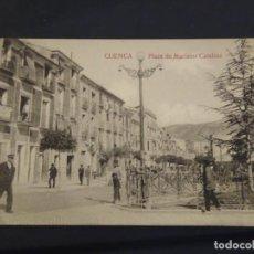 Postais: CUENCA. PLAZA DE MARIANO CATALINA. EDICIONES F. CUESTA . SIN CIRCULAR. . Lote 190421625