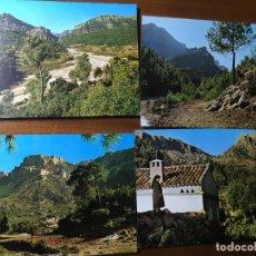 Postales: ALBACETE,YESTE, 4 POSTALES BALNEARIO DE TUS.EL VADO,COLLADO TORNERO,EL VILLAR Y PUNTAL SIMANCOS.VILR. Lote 190488848