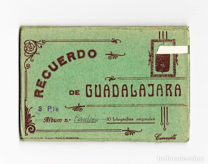 GUADALAJARA.- ALBUM 10 POSTALES - RECUERDO DE GUADALAJARA - FOTO CAMARILLO. (Postales - España - Castilla La Mancha Antigua (hasta 1939))