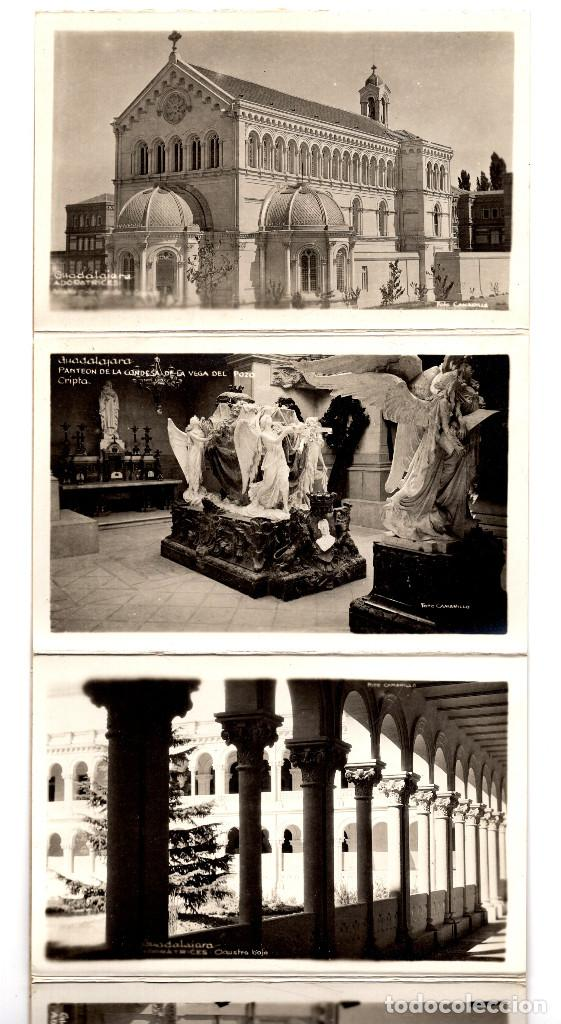 Postales: GUADALAJARA.- ALBUM 10 POSTALES - RECUERDO DE GUADALAJARA - FOTO CAMARILLO. - Foto 2 - 190853731