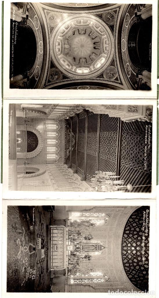 Postales: GUADALAJARA.- ALBUM 10 POSTALES - RECUERDO DE GUADALAJARA - FOTO CAMARILLO. - Foto 3 - 190853731