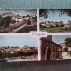 Postales: POSTAL OROPESA - TOLEDO. Lote 191137315