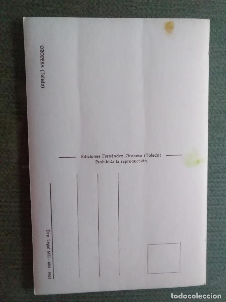 Postales: POSTAL OROPESA - TOLEDO - Foto 2 - 191137315