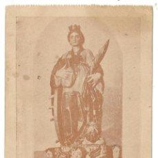 Postales: LA PATRONA DE RUGUILLA SANTA CATALINA DE ALEJANDRIA LA FILOSOFA ANTIGUA POSTAL. Lote 191191688
