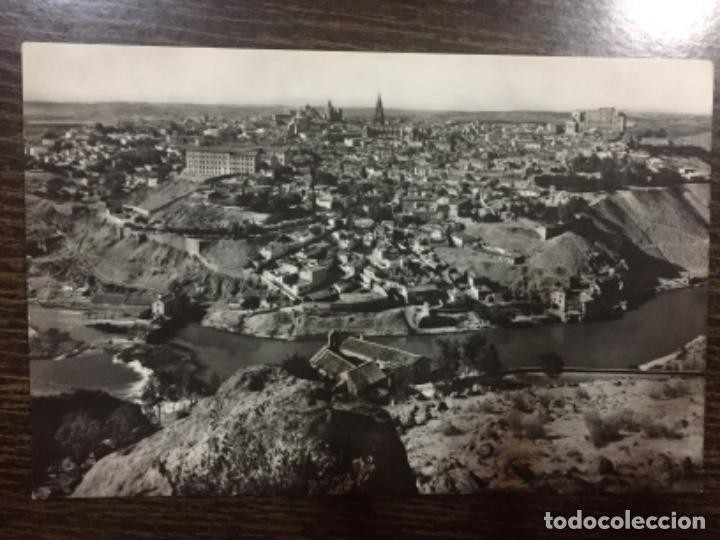 TOLEDO - VISTA GENERAL Y RÍO TAJO - ED. LUIS ARRIBAS (Postales - España - Castilla la Mancha Moderna (desde 1940))