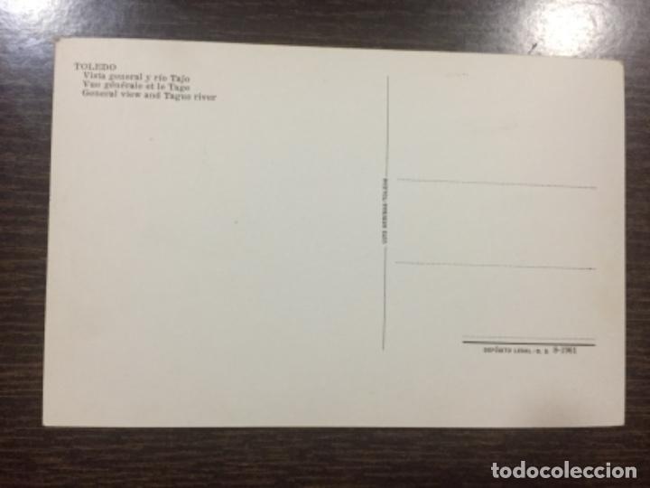 Postales: Toledo - Vista general y río Tajo - Ed. Luis Arribas - Foto 2 - 191692638