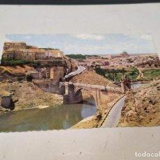 Postales: TOLEDO - POSTAL TOLEDO - PUENTE DE ALCÁNTARA - VISTA PARCIAL. Lote 191922011