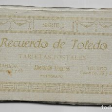 Postales: P-10005. BLOC CON 24 POSTALES TOLEDO SERIE I. ABELARDO LINARES FOTOGRAFO.. Lote 192974155
