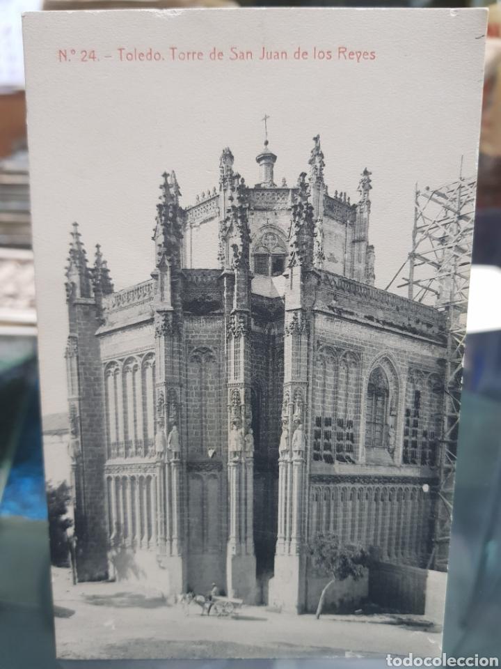 ANTIGUA POSTAL SAN JUAN DE LOS REYES TOLEDO FOTOTIPIA THOMAS 24 (Postales - España - Castilla La Mancha Antigua (hasta 1939))