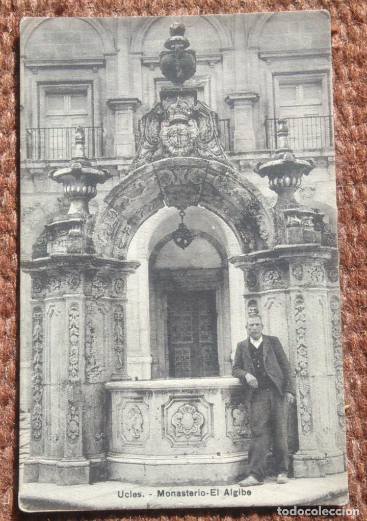 UCLES - CUENCA - MONASTERIO, EL ALGIBE (Postales - España - Castilla La Mancha Antigua (hasta 1939))