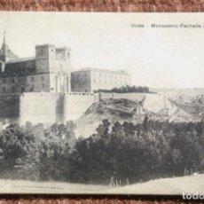 Postales: UCLES - CUENCA - MONASTERIO. Lote 193995872