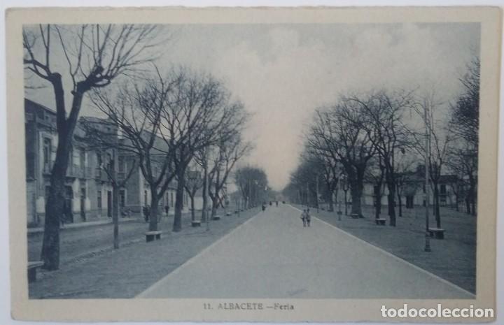 ALBACETE- FERIA (Postales - España - Castilla La Mancha Antigua (hasta 1939))