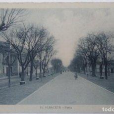 Postales: ALBACETE- FERIA. Lote 194112586