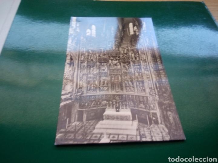 ANTIGUA POSTAL DEL ALTAR MAYOR DE LA CATEDRAL DE TOLEDO. AÑOS 50 (Postales - España - Castilla la Mancha Moderna (desde 1940))