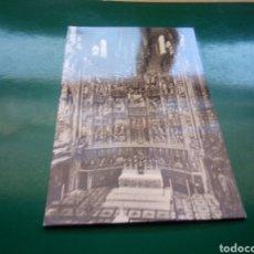 Postales: ANTIGUA POSTAL DEL ALTAR MAYOR DE LA CATEDRAL DE TOLEDO. AÑOS 50. Lote 194199338