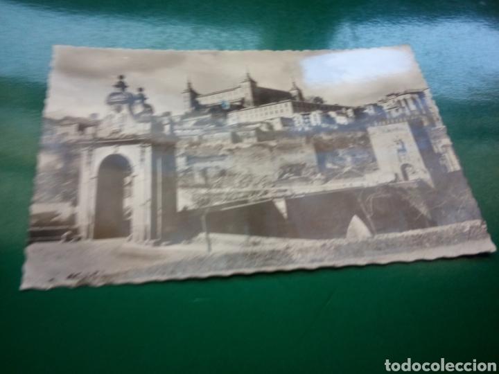 ANTIGUA POSTAL DE TOLEDO. EL ALCÁZAR. AÑOS 50 (Postales - España - Castilla la Mancha Moderna (desde 1940))