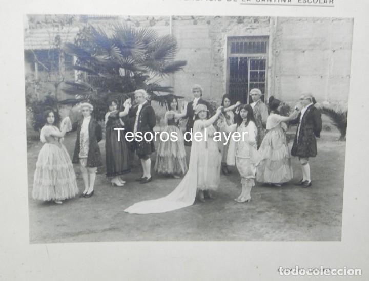 Postales: PRECIOSA FOTOGRAFIA DE FUNCION TEATRAL CELEBRADA EN EL TEATRO CIRCO DE ALBACETE, 28 DE ABRIL DE 1920 - Foto 2 - 194373705