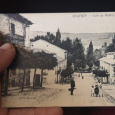 Postales: POSTAL DE PRINCIPIOS DEL SIGLO 20 DE SIGÜENZA. Lote 194391023